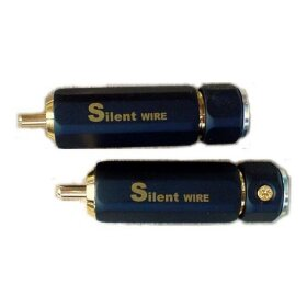 Разъем Silent Wire RCA Series 16, gold